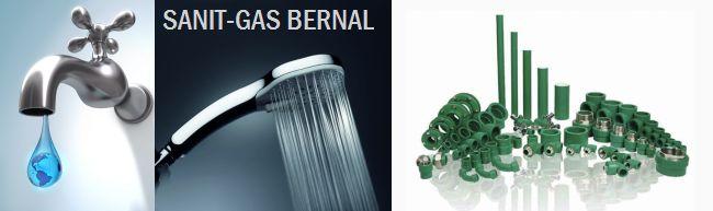 Agua, repuestos, accesorios sanitarios en Sanit Gas Bernal