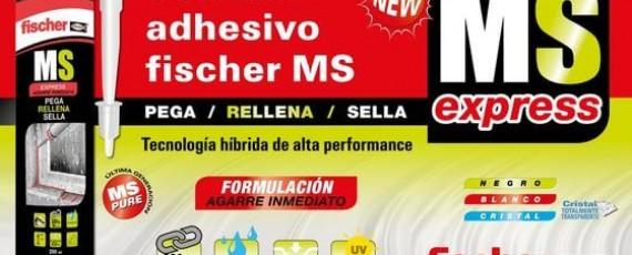 Sellador Adhesivo Fischer MS Sanit Gas