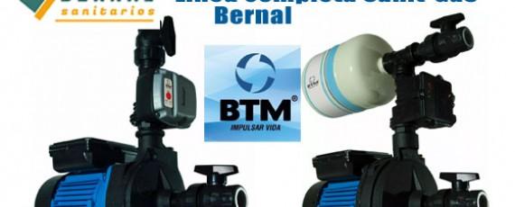 Bombas Presurizadoras BTM de SanitGas Bernal