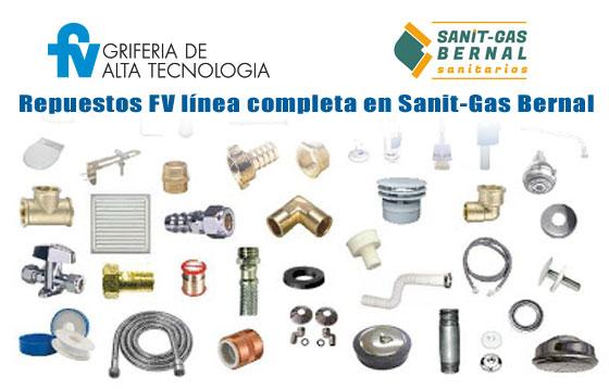 Repuestos FV Linea Completa en Sanitgas Bernal