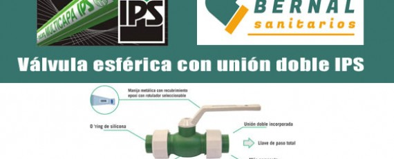 Válvula esférica IPS